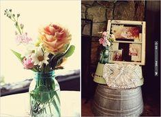 vintage wedding decorations | VIA #WEDDINGPINS.NET