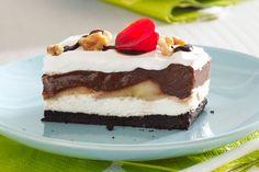Chocolate-Banana Split Dessert
