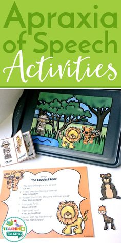 The Interactive Apraxia Activities Value Bundle offers a creative and engaging way to elicit multiple repetitions of targets with children with apraxia. Speech Therapy Activities, Speech Language Pathology, Language Activities, Speech And Language, Articulation Activities, Childhood Apraxia Of Speech, Early Childhood Activities, Sensory Therapy, Learning Disabilities
