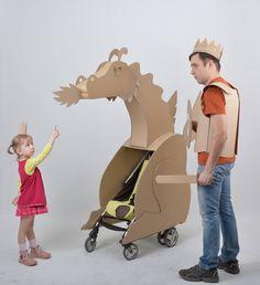 Волшебный склад сокровищ и интернет-магазин самых лучших картонных игрушек и декораций, которые папа Женя начал изобретать для дочки Иришки, а теперь придумывает их для всех детей во Вселенной!