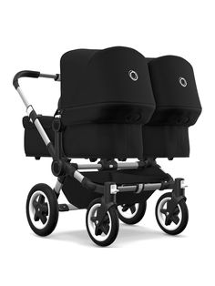 The Multi-Purpose Pushchair The Bugaboo is the multi-purpose pushchair that's ready for more. The name Donkey says it all: spacious pushchair stor Bugaboo Donkey Duo, Bugaboo Stroller, Twin Strollers, Twin Pram, Double Prams, Baby Prams, Baby Supplies, Traveling With Baby, Baby Needs