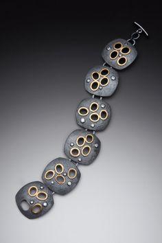 Cosmos Bracelet by Kim M. Baxter  by Kim M. Baxter #bracelet
