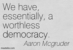 Worthless Democracy - InfoBarrel Images