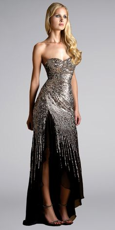 winter formal dress black. NOT for me but still gorgeous!