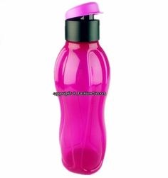 TUPPERWARE 750ML Eco Bottle Flip Top Radish Purple Trinkflasche Flasche Behälter via Fashion Secret. Click on the image to see more!
