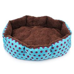 Warm Pet Beds for Dog Cat House Kennels Mats L584511cm22818943in Blue * Want to know more, click on the image.(This is an Amazon affiliate link)