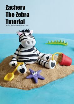 Cake Masters Magazine March 2014 - Zebra Tutorial