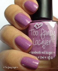 Too Fancy Lacquer Orchid 2014