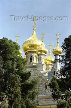 The Church of Mary Magdalene is a Russian Orthodox church located on the Mount of Olives, near the Garden of Gethsemane in East Jerusalem, Israel...