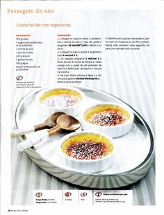 Revista bimby pt0014 - janeiro 2012 Flan, Gluten Free Recipes, Healthy Recipes, Multicooker, Happy Foods, Sweet Cakes, What To Cook, Other Recipes, Soul Food