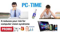 Protector de ojos para la pantalla del ordenador