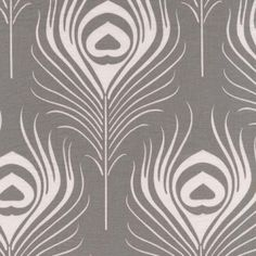 http://www.plushaddict.co.uk/all-fabric/quilting-fabric/by-collection/michael-miller-seedling/michael-miller-seedling-peacock-plume-pewter.html Michael Miller Seedling Peacock Plume Pewter Cut Length