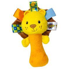 Yellow Duck Toys - Taggies - See Me Zoo Baby Rattle Lion, $9.99 (http://www.yellowducktoys.com/taggies-see-me-zoo-baby-rattle-lion/)