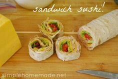 Getting creative with homemade packed lunches