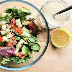 Tahinis saláta öntet Cobb Salad, Food, Essen, Meals, Yemek, Eten