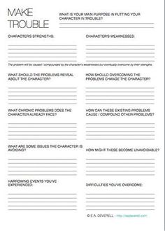 Pin by Skye on Writer\'s Itch | Pinterest | Prompts, Worksheets and ...