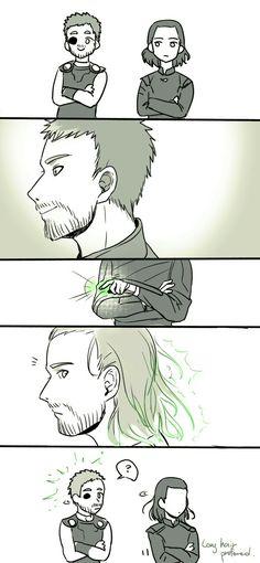 Long hair prefered #Thorki #Ragnarok