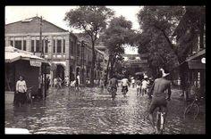 Phnom Penh after Typhoon 22 October, 1952