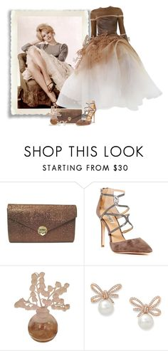 """""""Vintage Beauty - Then to Now"""" by love-n-laughter ❤ liked on Polyvore featuring Stephane Rolland, Badgley Mischka, Lalique and vintage"""