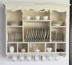 Cocina Shabby Chic, Shabby Chic Kitchen, Home Decor Kitchen, Country Kitchen, Kitchen Interior, New Kitchen, Vintage Kitchen, Diy Home Decor, Kitchen Design