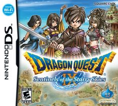 Dragon Quest IX: Sentinels of the Starry Skies Cover (Click to enlarge)