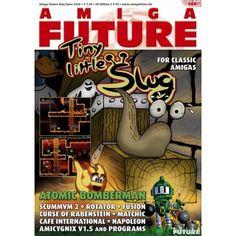Nytt Amiga-blad i farger! Les om Tiny Little Slug, Atomic Bomberman, ScummVM 2 og mye mer! Juni, Magazines, Retro Vintage, Comic Books, Comics, Cover, Journals, Cartoons, Cartoons