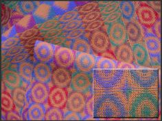 Patterned Double Weave Fabric with Detail,  cotton, 2011