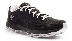 On Cloudster Black / White shoe