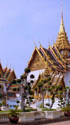 Grand Palace Bangkok Thailand | Castle of the world #chateau