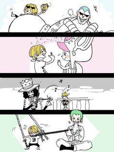 One Piece, Sanji (child), Strawhat pirates