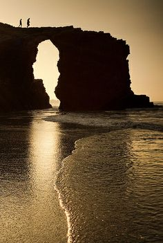 Playa de Las Catedrales, Ribadeo, Spain