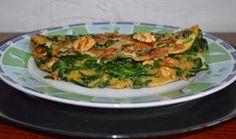 De keuken van Martine: Spinazie-omelet met walnoten