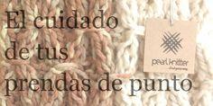Cómo cuidar y lavar tus prendas de lana hoy en el blog de Pearl Knitter.