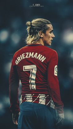 Antoine Griezmann Atletico de Madrid – My CMS Best Football Players, Football Is Life, Sport Football, Soccer Players, Soccer Guys, College Football, Antoine Griezmann, Lionel Messi Barcelona, Barcelona Soccer