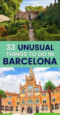Barcelona is chock-full of strange sights. Check this guide with 33 unusual things to do in Barcelona and discover the city's most peculiar attractions. | Quirky Attractions in Barcelona Spain | Weird things to do in Barcelona | Strange Things to do and see in Barcelona | Unusual attractions Barcelona | Unusual things to do and see in Barcelona | Barcelona unusual things to do European Travel Tips, European Vacation, Europe Travel Guide, Europe Destinations, Spain Travel, Travel Usa, Portugal Travel, Travel Packing, Unusual Things