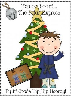 Polar Express...hop on board for a craft and activities! product from First-Grade-Hip-Hip-Hoora on TeachersNotebook.com