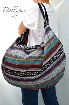Nepali Hippie Shoulder Bag Gypsy Boho Hobo Backpack by Dollypun, $14.99