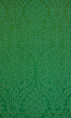 St Nicolas Green - Green Fabrics - Textiles & Trimmings