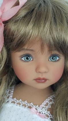 Pretty Dolls, Cute Dolls, Beautiful Dolls, Doll Toys, Baby Dolls, Doll Painting, China Painting, Effanbee Dolls, Crochet Dolls Free Patterns