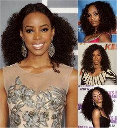 Hair style ideas for women with curly hair.