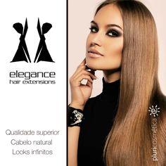 ELEGANCE - HAIR EXTENSIONS www.pluricosmetica.com