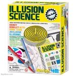 4M Kidz Labs Illusion Science Activity Kit - Toysmith - Pack of 6 kits