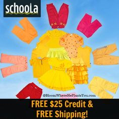 Schoola: FREE $25 Credit & FREE Shipping