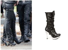 Shop Your Tv: The Mortal Instruments: City of Bones Isabelle Lightwoods Shadowhunter Gear Boots (Jemima West)