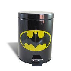 Lixeira de Metal Batman