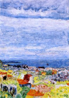 Pierre Bonnard - 1924 Vue Panoramique Du Cannet