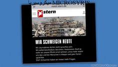موقع شتيرن الألماني.. صامتون اليوم من أجل حلب