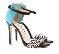Sole Society Shoes - Open toe heels - Sheila