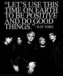 Words of wisdom from Ray Toro