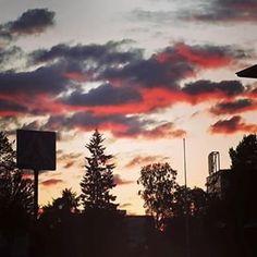 #Rovaniemi at #sunset needs #nofilter - #finland #achickinFinland #chicksandtripsontheroad